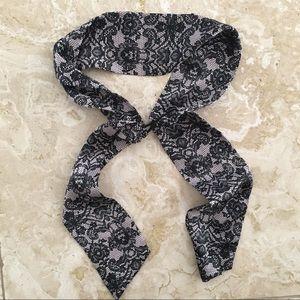 H&M Lace Patterned Headband Scarf